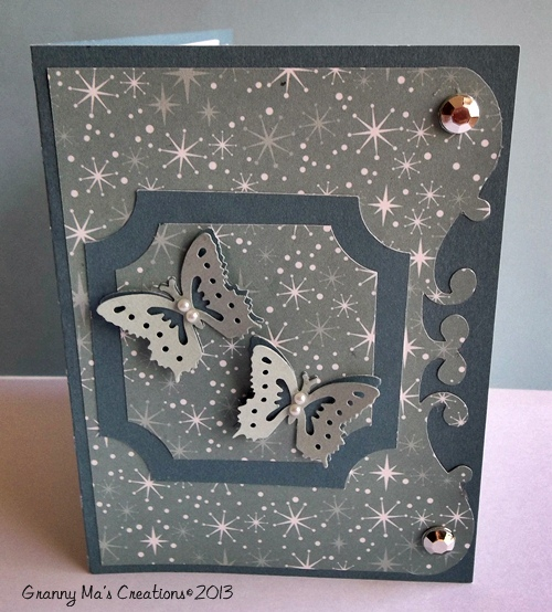 Plaque Tunnel Card - Front view
