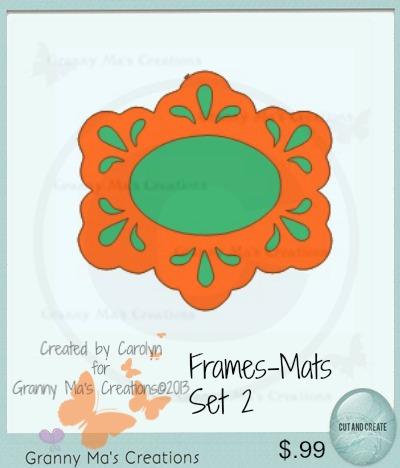 Frames-Mats Set 2